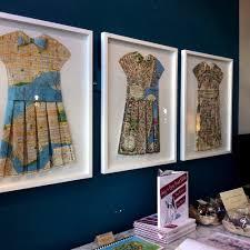 san francisco map framed a collection of framed vintage map dresses made by carol elsworthy