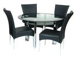 glass dining table toronto set round small breakfast design top
