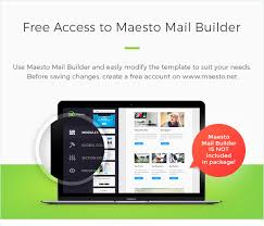 rigo responsive email newsletter template by maestomail