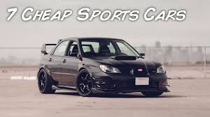 affordable sport cars top 7 cheap sports cars that you can have as your first car