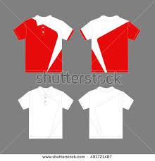 modern polo shirt design template vector stock vector 491721487