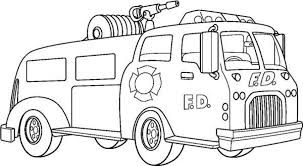 20 free printable fire truck coloring pages everfreecoloring