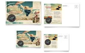 35 best vintage postcard design templates for inspirations free