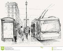 one point perspective drawing of a street u2013 images free download