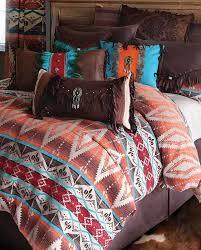 Western Bedding Set Mojave Sunset Bedding Set Southwestern Western Bedding Decor