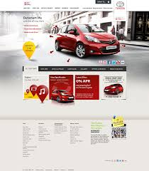 toyota corporate website 25 professional and modern web designs toyota website and web