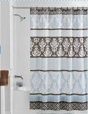 lovely ideas brown and blue shower curtains splendid design