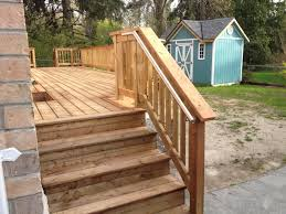 attach stair stringers to deck too low building u0026 construction