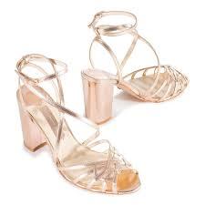 wedding shoes block heel mills