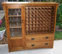 Kitchen Wine Cabinet I Converted An Old Tv Cabinet Into A Wine Rack It U0027ll Hold 64