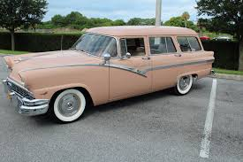 1956 ford station wagon country sedan stock 56wag for sale near
