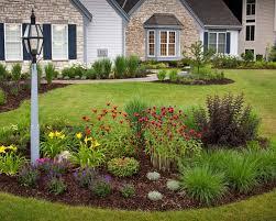 around lamp post front yard landscaping ideas u0026 design photos houzz