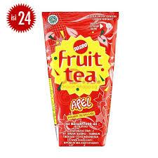 Teh Kotak Sosro 200 Ml Per Dus jual fruit tea apple 200ml x 24pcs jd id