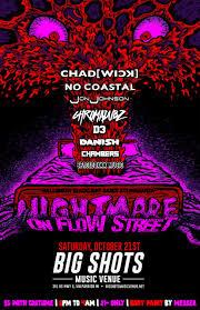 ticket rumba a nightmare on flow street halloween blacklight