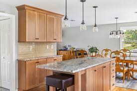 maple kitchen cabinets with white granite countertops kccne on foxboro ma kitchen featuring maple
