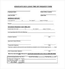 doc 12401754 leave request form sample u2013 sample leave request