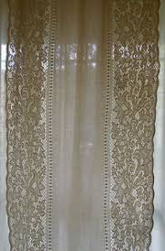 tende in pizzo francese tenda pizzo meccanico cotton curtain rideau h 400x117 b b17 ebay