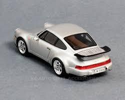 gas monkey porsche porsche 964 turbo 3 6 year 1993 silver 1 43 spark ebay