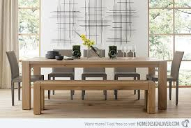 Big Wood Dining Table 15 Perfectly Crafted Large Dining Room Table Designs Home Design
