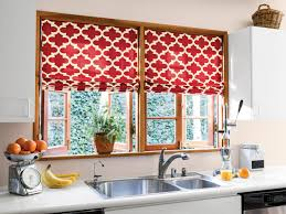 kitchen blinds and shades ideas creative kitchen window treatments hgtv pictures ideas hgtv