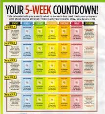 weight loss calendar countdown weight loss