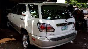 used lexus rx300 for sale superb nig used lexus rx 300 2002 model autos nigeria
