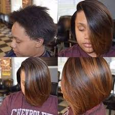 Sew In Bob Hairstyle Nice Invisible Part Quick Weave Via Hairbylatise Read The Article