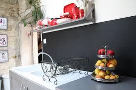 tableau noir ardoise cuisine credence ardoise cuisine avec un tableau noir dans ma cuisine sur