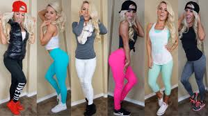cute gym clothes where to buy them and how much they cost youtube