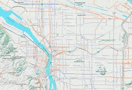 Map Portland by Bike Maps And You Mapzen