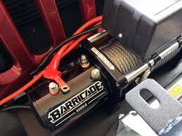 barricade 9500lb winch install jeep wrangler jk wiring jeepfan com