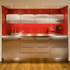 ikea red kitchen cabinets ikea kitchen cabinets stainless steel exitallergy com