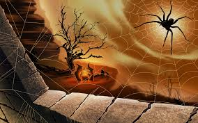 halloween spiderweds background free witch wallpapers and backgrounds wallpapersafari