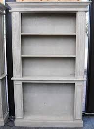 Antique Looking Bookshelves by French Shabby Chic White Solid Timber Tall Thin Bookshelf Book