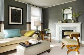 10 of the best colors to pair with gray green and grey living