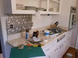 faux tin kitchen backsplash faux tin kitchen backsplash houzz regarding decor 2