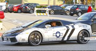 Lamborghini Gallardo Custom - hey it u0027s chris brown and no that u0027s not a