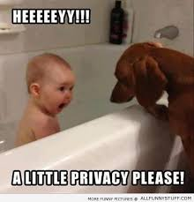 Little Meme - a little privacy please funny baby face meme