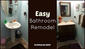 Moen Boardwalk Bathroom Faucet Easy Bathroom Remodel With Moen Boardwalk Faucet