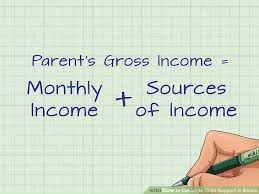 how to calculate child support in illinois with pictures