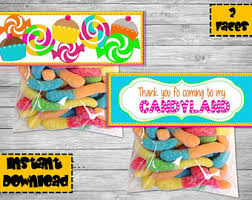 candyland party supplies candyland decoration etsy