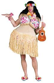 Hawaiian Halloween Costume Wanna Nookie Costume Buycostumes