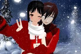 merry christmas love kano mirai deviantart