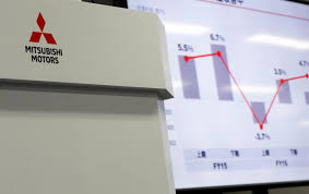 mitsubishi motors logo mitsubishi motors swings to operating profit in second quarter