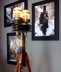 Tripod Lamps Floor Sculpture