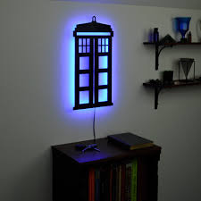 lighted dr who tardis wall art tardis pinterest tardis