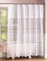Double Swag Shower Curtain With Valance Double Swag Shower Curtain With Valance Window Treatments Design