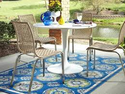 Argos Patio Furniture Covers - outdoor rug astonishing blue geometric outdoor rug for patio
