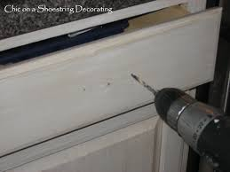 How To Change Kitchen Cabinets by Chic On A Shoestring Decorating How To Change Your Kitchen