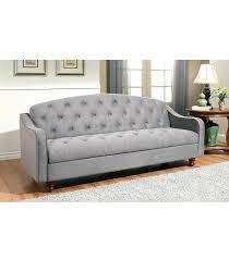 Abbyson Living Bedford Gray Linen Convertible Sleeper Sectional Sofa Interior Abbyson Living Sofa